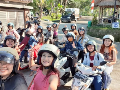 Scooter tour in bali