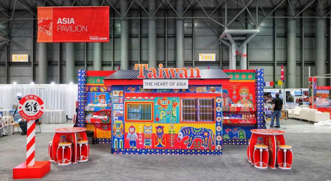 Taiwan Tourism Bureau Booth