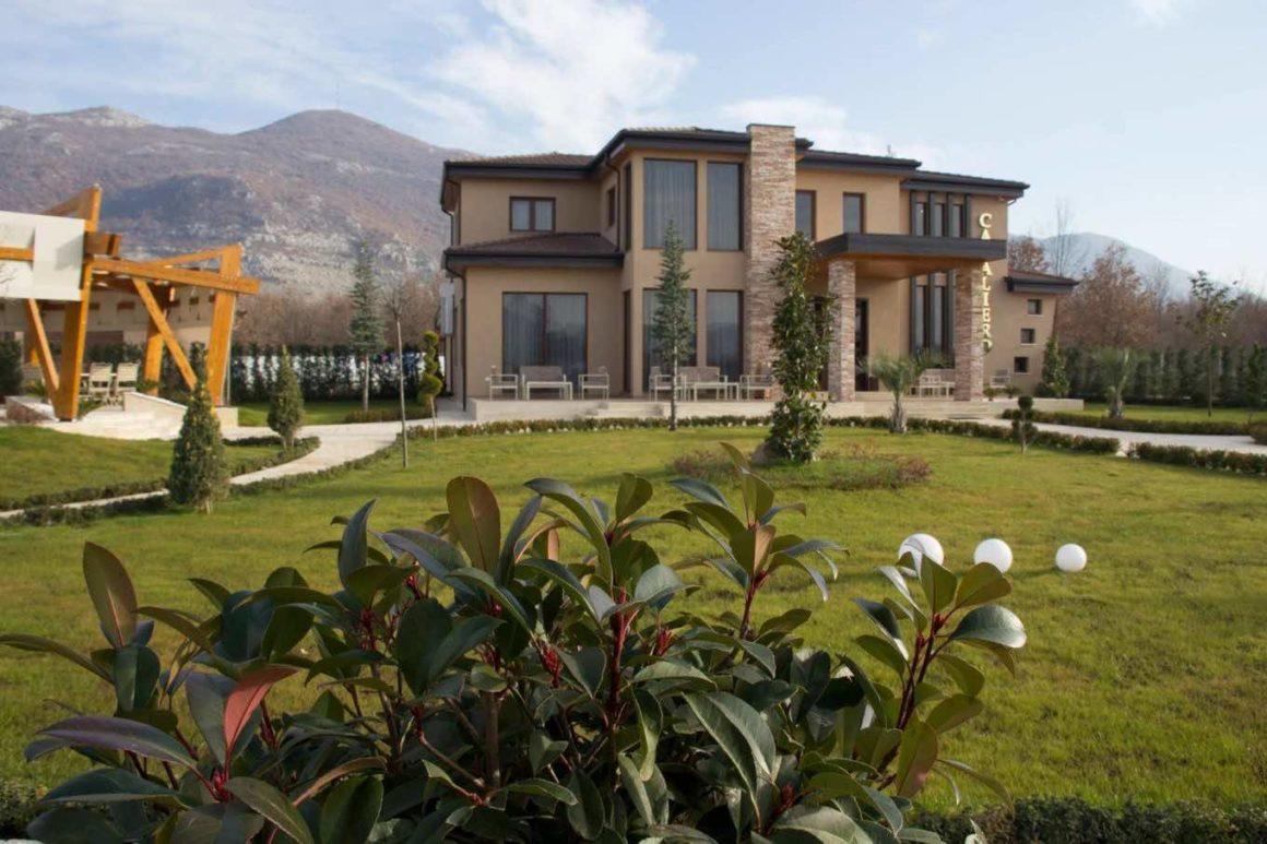 cavaliero hotel restaurant in albania