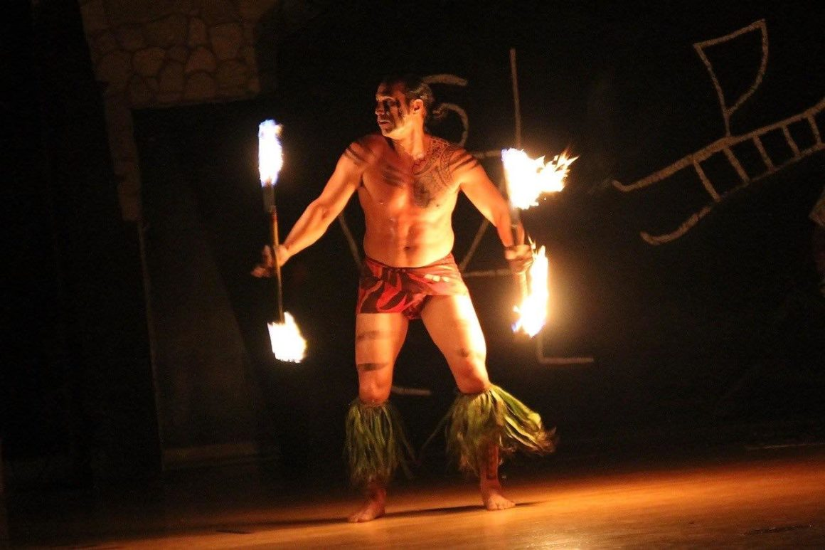 hawaii dance flame