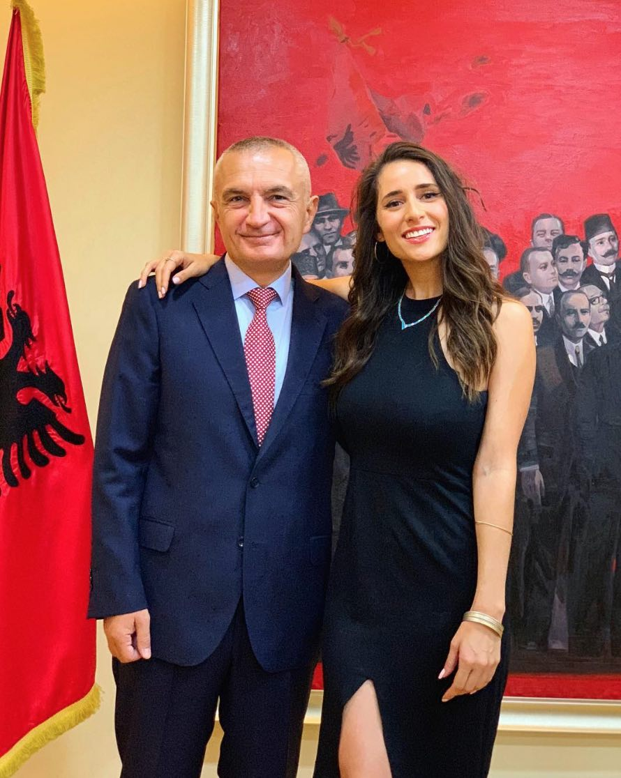 meet the president of albania